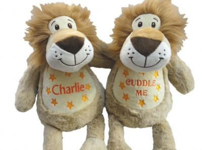 Personalised Lion Soft Toy - Teddy